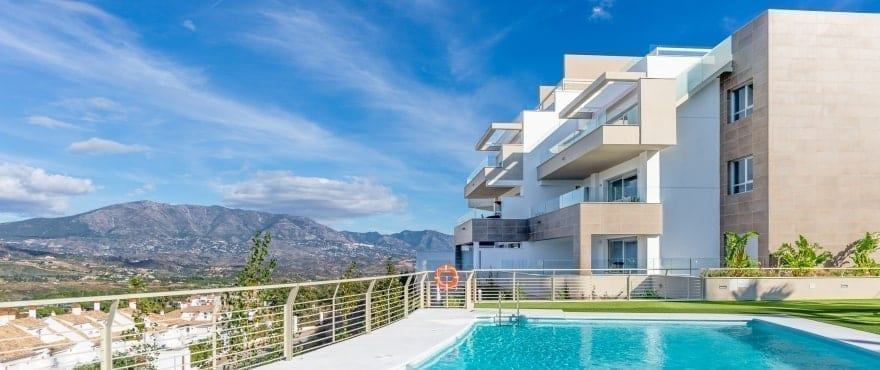 Grand View: Appartamenti in vendita con piscina condominiale a La Cala Golf Resort