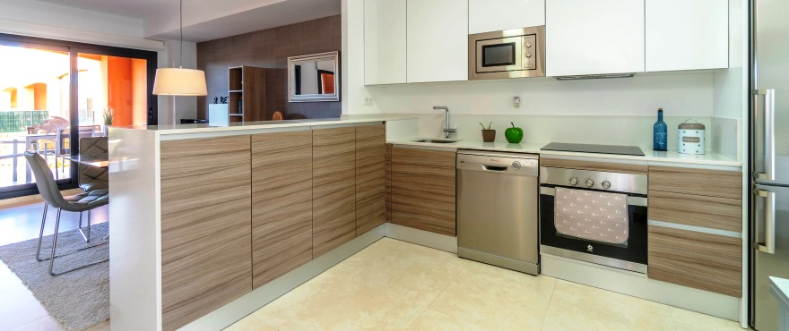Townhouses in Elche, Alicante: Kitchen. Kiruna Residencial
