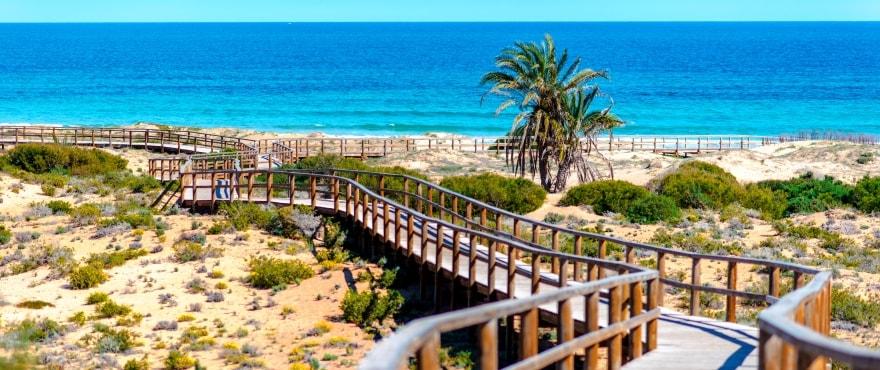Пляж Los Arenales del Sol, Alicante