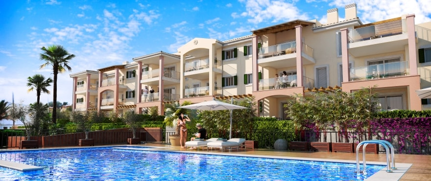 Royal Blue, new apartments for sale in Cala Mesquida, Capdepera, Majorca