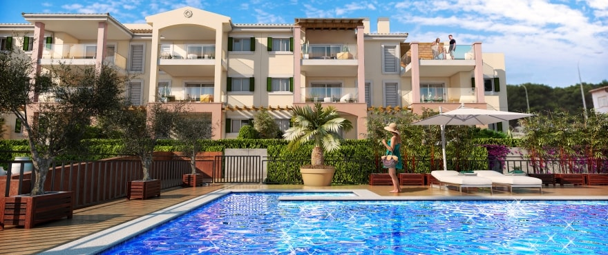 Royal Blue, nye leiligheter til salgs i Cala Mesquida, Capdepera, Mallorca
