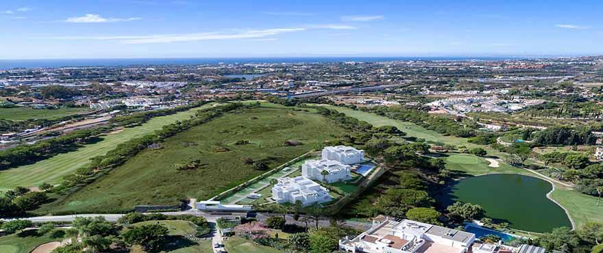 Panoramisch uitzicht vanuit Le Caprice in The Westin La Quinta Golf, Benahavis