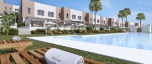 Green Golf, houses with communal pool