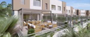 Green Golf, large terraces with panoramic sea views and overlooking Estepona golf. South facing