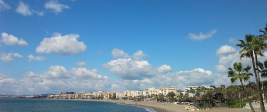 Estepona - Playa Rada beach