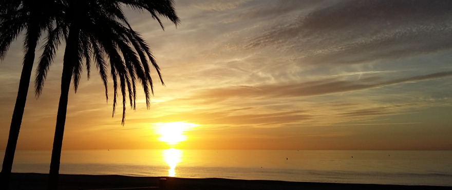 Estepona - Playa Rada sunrise