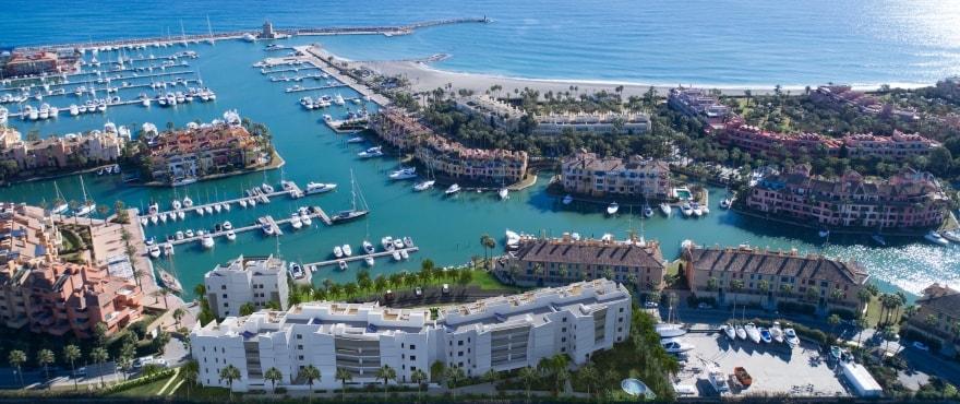 Pier, appartements en vente à La Marina de Sotogrande, Cadix