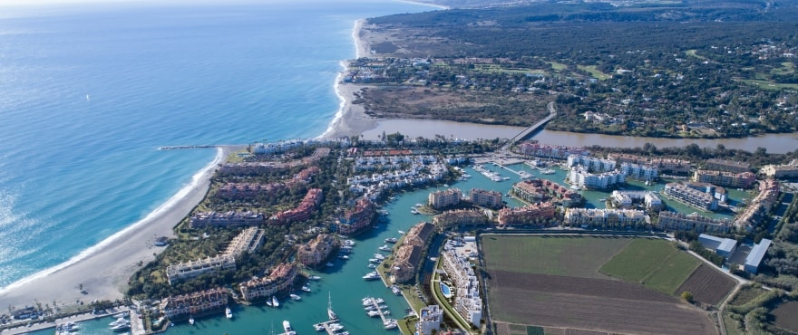 Pier — продажа квартир в морской гавани Sotogrande, Cádiz