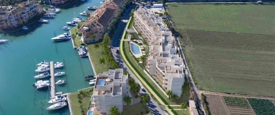 Pier, appartements en vente en première ligne de La Marina de Sotogrande, Cadix
