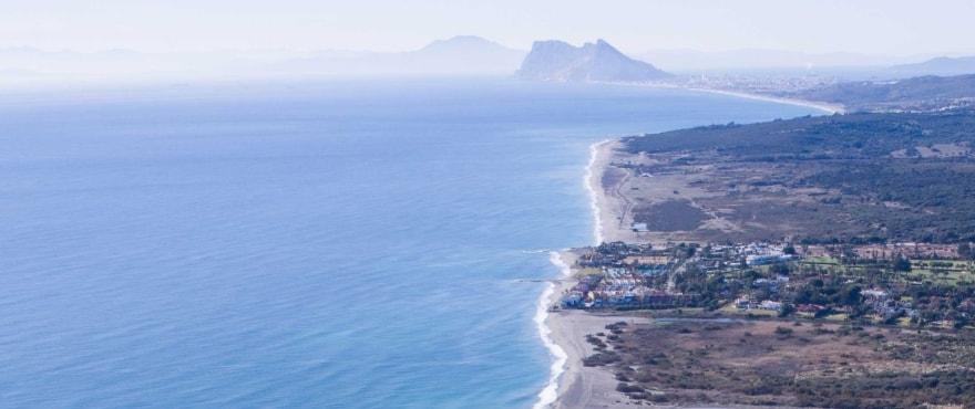 Gibraltar op 25 kilometer van de koopappartementen