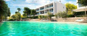 Sunset Ibiza, nuovi appartamenti con piscina in vendita a Cala Gració, Ibiza