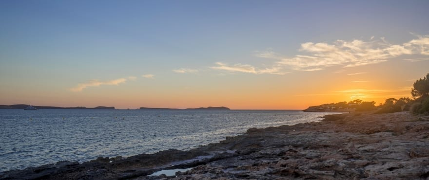 Nya lägenheter bredvid Cala Gració, Ibiza