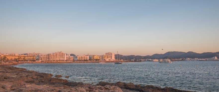 Nye leiligheter like ved Cala Gració, Ibiza