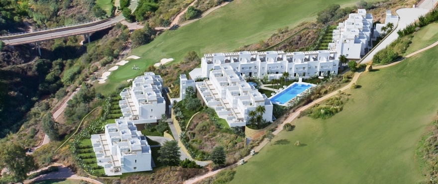 Natura, townhouses for sale adjacent to the golf course, La Cala Resort, Mijas