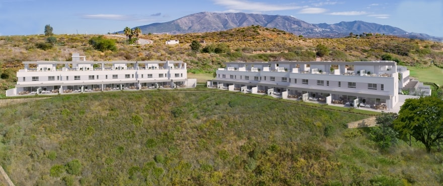 Natura, townhouses with panoramic views, La Cala Resort, Mijas