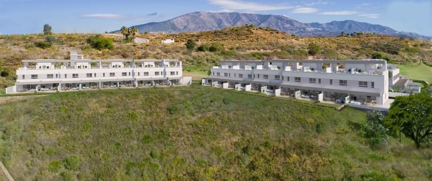 Natura, townhouses with panoramic views, La Cala Golf