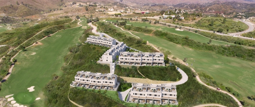 New promotion of townhouses at the residential complex at La Cala Resort, Mijas