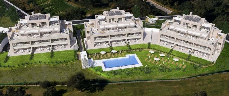 Emerald Greens - Phase 1: apartments for sale at San Roque Club, Cadiz