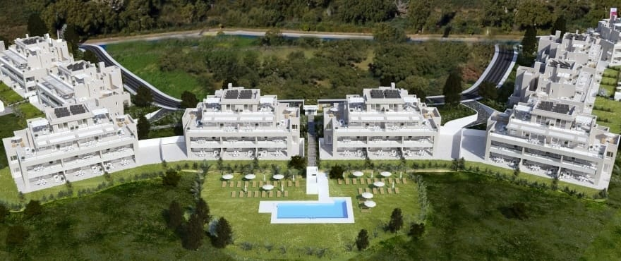 Emerald Greens - Phase 2: apartments for sale at San Roque Club, Cadiz