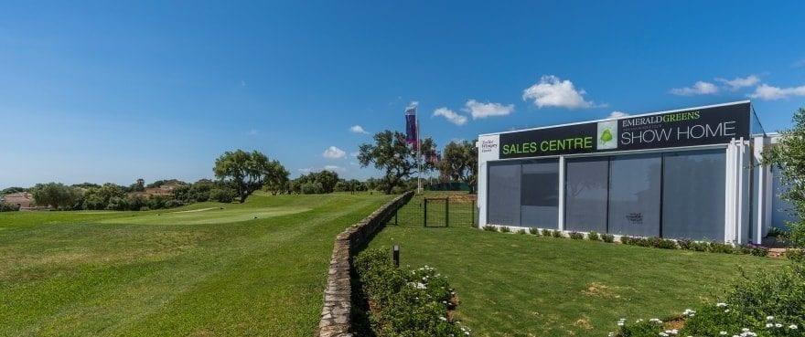 Emerald Greens, leiligheter til salgs, San Roque Club, Cádiz. Panoramautsikt