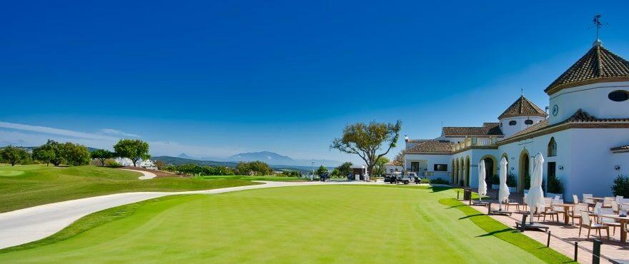 Emerald Greens, Appartementen te koop, San Roque Club, Cadiz. Panoramisch
