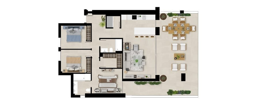 Plan ground floor home, 3 bedrooms, Emerald Greens