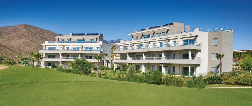 Vistas panorámicas de las nuevas viviendas Sun Valley, Mijas, Costa del Sol