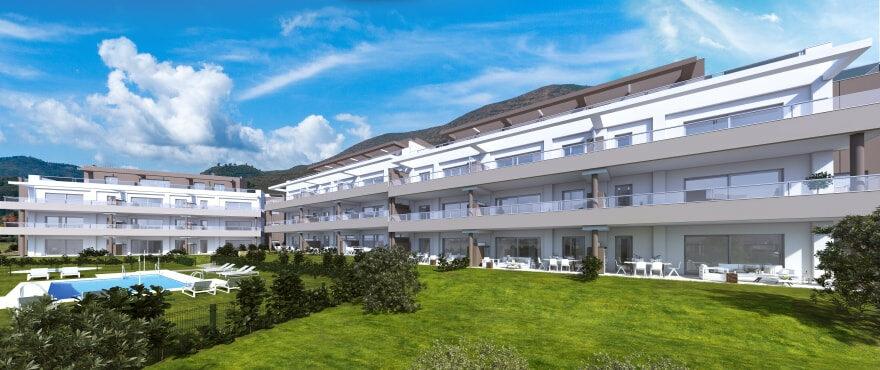 Sun Valley: продажа квартир с общим бассейном в урбанизации La Cala Golf Resort