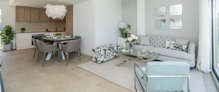 Salone e cucina integrati, nella nuova promozione in vendita di Sun Valley