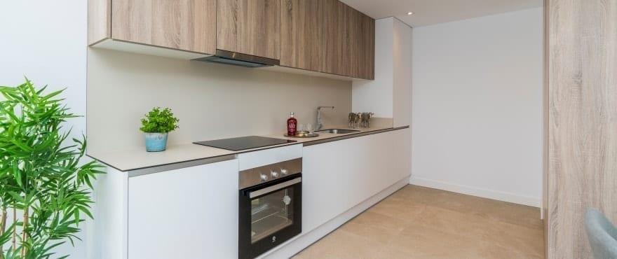 Modernt kök i de nya lägenheterna till salu, Sun Valley, La Cala Resort