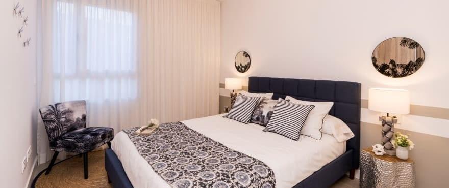 Dormitorio amplio y luminoso en zona tranquila, La Cala Golf Resort
