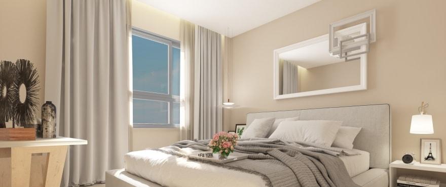 Rommelig soverom med gode lysforhold i et rolig område, La Cala Golf Resort