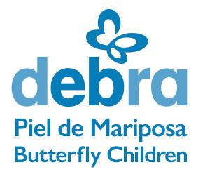 Piel de mariposa DEBRA. Butterfly Children
