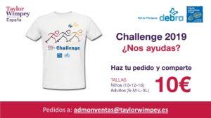 Camiseta Challenge 2019