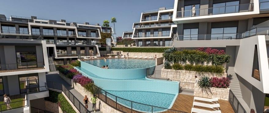 Leiligheter til salgs med felles svømmebasseng og hage i Gran Alacant