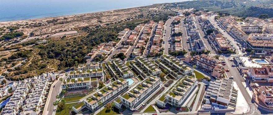 IIconic, Gran Alacant, Panoramautsikt over boligen og havet