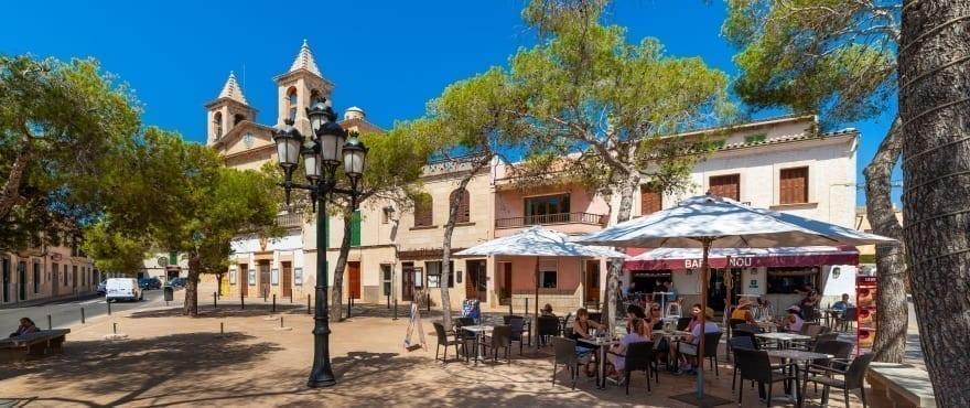 Santanyi town, Mallorca, Balearic Islands