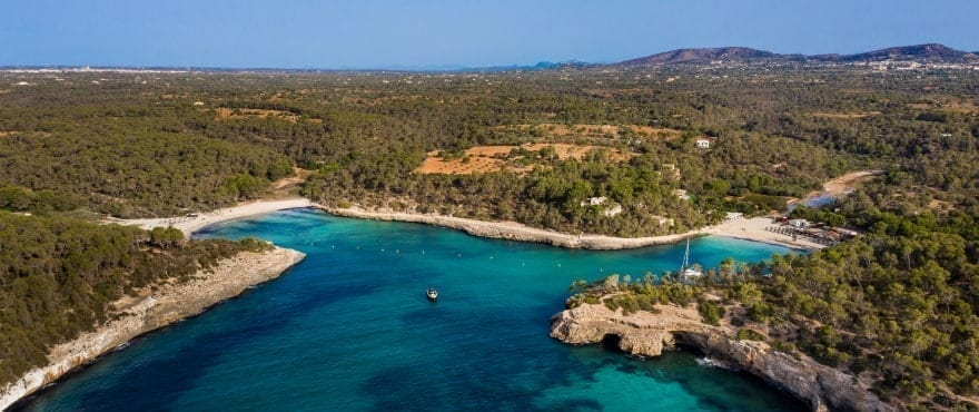Badebuchten S'Amarador und Cala Mondrago, Mallorca
