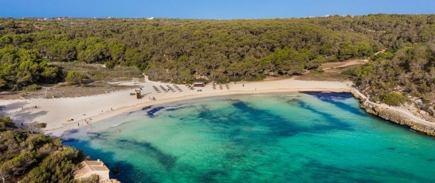 S'Amarador beach, Santanyi, Mallorca