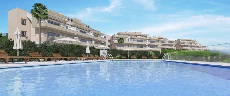 Harmony : Appartements en vente avec piscine commune à La Cala Golf Resort
