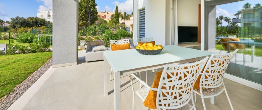 New apartments with private terraces