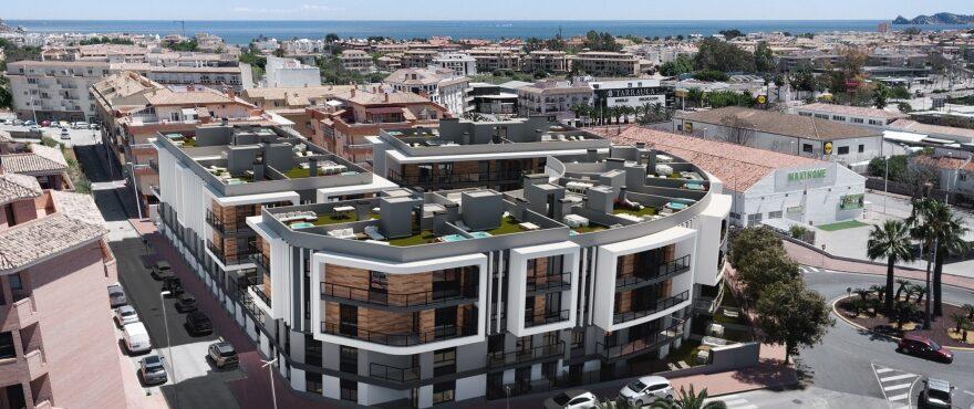 Essential, Neubau-Apartments in Jávea zu verkaufen, mit umfassendem Service