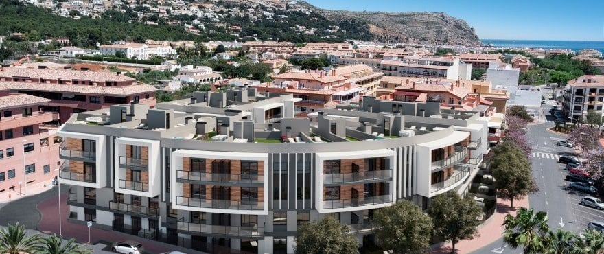 Essential, New apartments for sale in Jávea, in a residential area