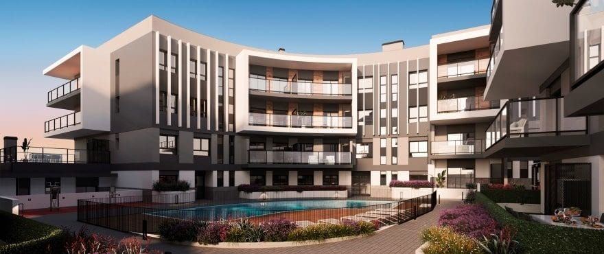 Essential, new residential complex with communal gardens in Jávea