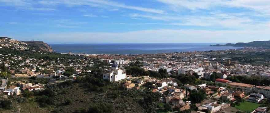 Panoramic view Jávea, Costa Blanca