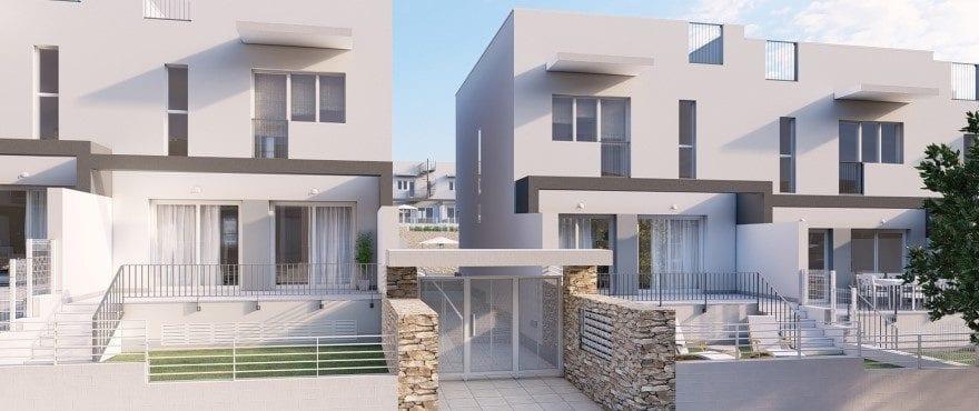 Kiruna Hills: Townhouses in Elche, Alicante: Entrance