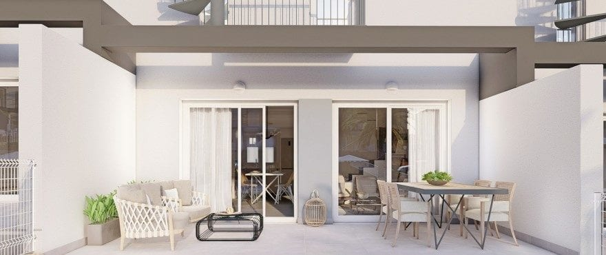 Kiruna Hills: Дома в продажу, дома в Елче, Аликанте, гольф, 3 спальни, частный сад и парковка, комунальный бассейн
