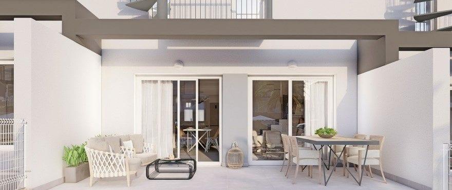 Kiruna Hills: Townhouses in Elche, Alicante: Terrace