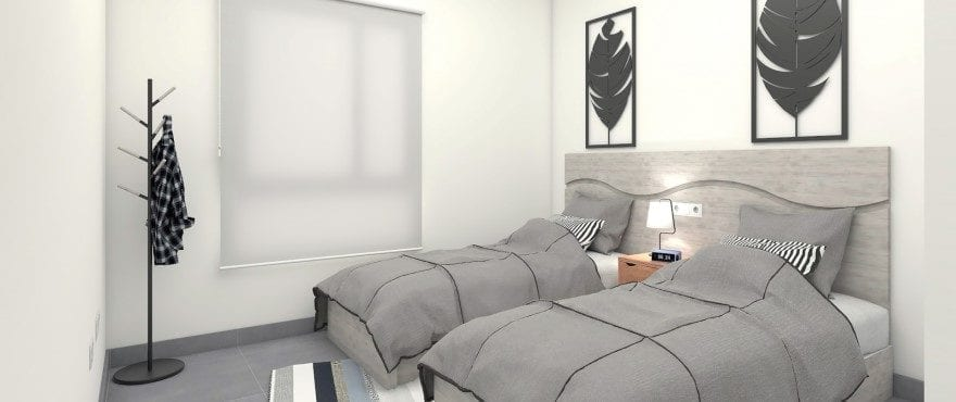New townhouses for sale in Elche, Alicante: 3 Bedroom