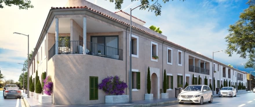 Ikat, new 2 and 3 bedroom apartments in Ses Salines, Mallorca